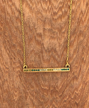 Load image into Gallery viewer, Axis Necklace in Gold & Inverness