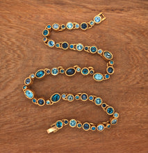 Load image into Gallery viewer, Bliss Necklace in Gold & Bermuda
