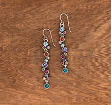 Load image into Gallery viewer, Silver Catch a Falling Star Earrings in Fling