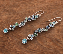 Load image into Gallery viewer, Silver Catch a Falling Star Earrings in Zephyr