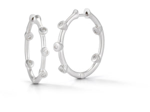 Cono Medium Hoop Earrings