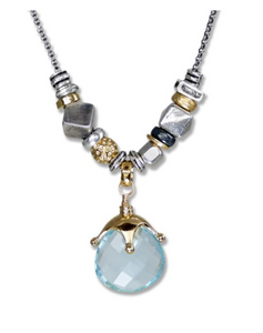 Blue Topaz Elements Necklace