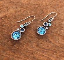 Load image into Gallery viewer, Silver Encore Earrings in Zephyr