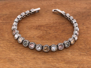 Game, Set, Match Bracelet in Champagne