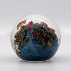 Inhabited Planet Paperweight