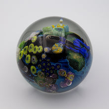 Load image into Gallery viewer, Inhabited Megaplanet Paperweight