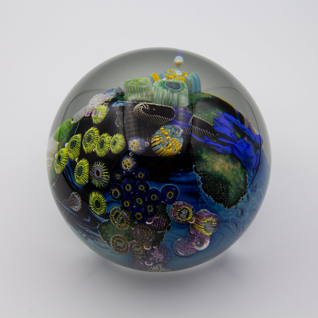 Inhabited Megaplanet Paperweight