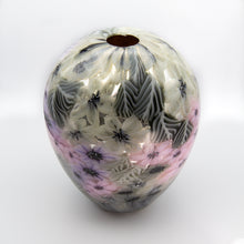 Load image into Gallery viewer, Lavender Millefiori Vase