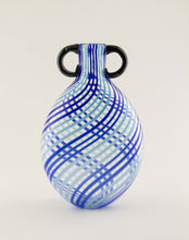 Load image into Gallery viewer, Blue Vertigo Vase