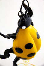 Load image into Gallery viewer, Yellow Lady Bug Perfume Bottle