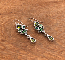 Load image into Gallery viewer, Silver Interval Earrings In Inverness