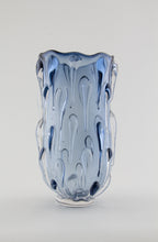 Load image into Gallery viewer, Steel Blue Droplet Vase