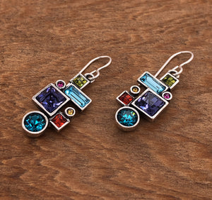 Syncopation Earrings in Fling
