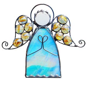 Angel Ornament in Blue