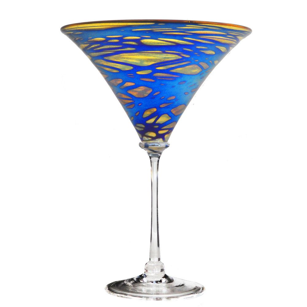 Florentine Martini Glass
