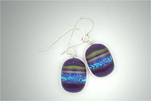 Sephirot Purple Earrings