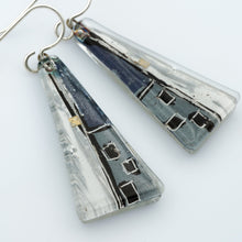 Load image into Gallery viewer, Large Grauhaus Triangle Earrings