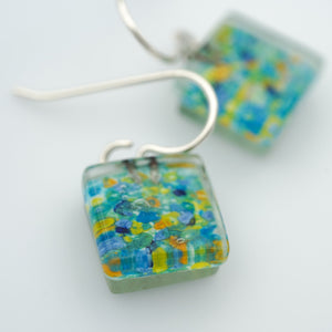 Seine Square Earrings