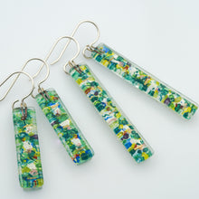 Load image into Gallery viewer, Nenuphar Bar Earrings