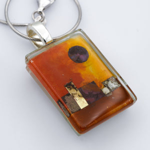 Day in the Village Pendant
