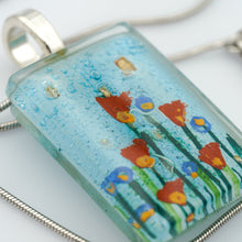 Load image into Gallery viewer, Stream Flowers Pendant
