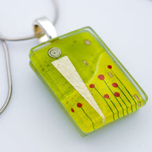 Load image into Gallery viewer, Amidst Poppies Pendant