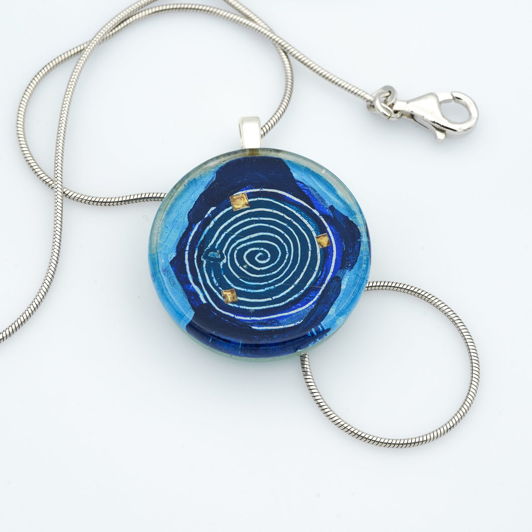 Mesmer Medallion Necklace