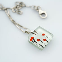 Load image into Gallery viewer, MOMO Poppies Charm Necklace