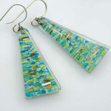 Load image into Gallery viewer, Seine Large Triangle Earrings