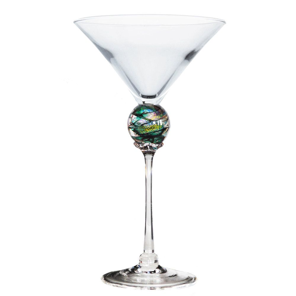 Green Planet Martini Glass