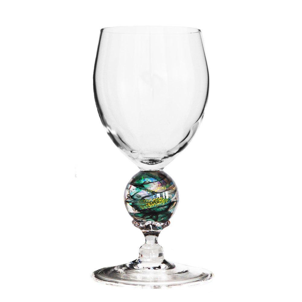 Green Planet Water Glass