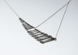 Railroad Necklace