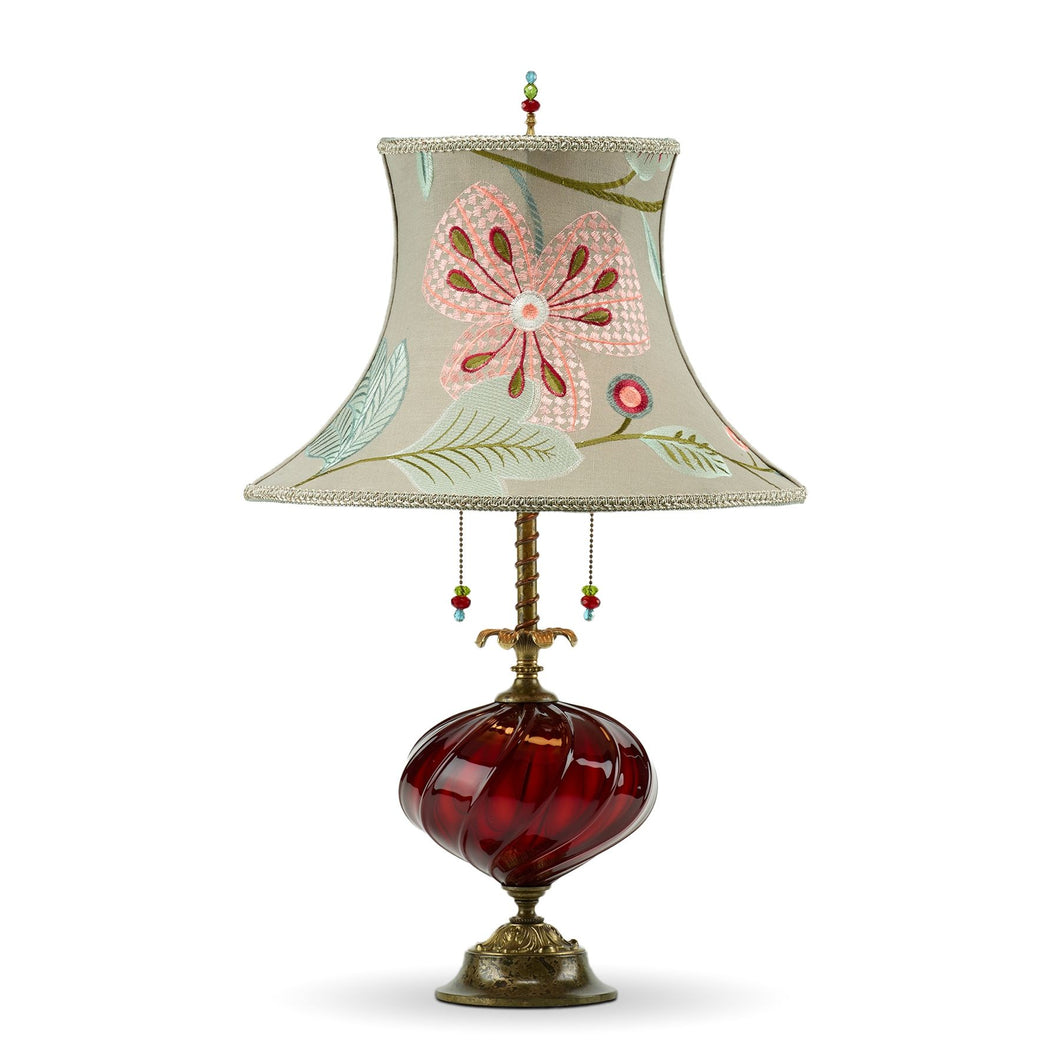 Joyce Lamp in Red