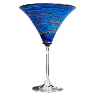 Spider Skyliner Iridescent Martini Glass