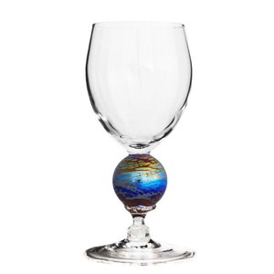 Spider Planet Water Glass