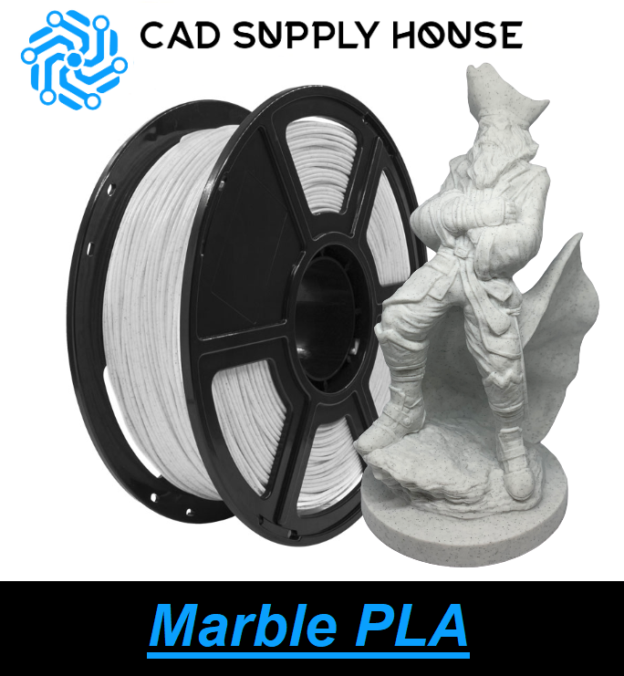 CSH Marble PLA Filament 1.75mm 3D Printing Filament 1 kg/roll ±0.05mm Tolerance