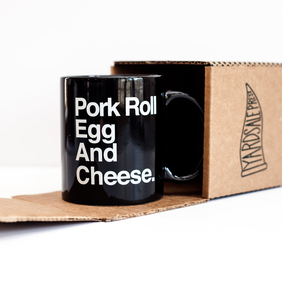 Pork Roll, Egg And Egg Coffee Mug
