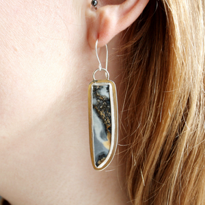 Maligano Jasper Earrings - OOAK