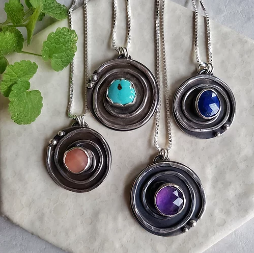 journey pendants (asst'd.)