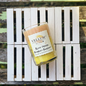 Blood Orange Bourbon & Bergamot Tallow & Beeswax Candle - Clover Market
