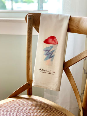 Philly Water Ice Flour Sack Towel
