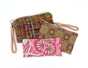 Colorful Wristlet - OOAK
