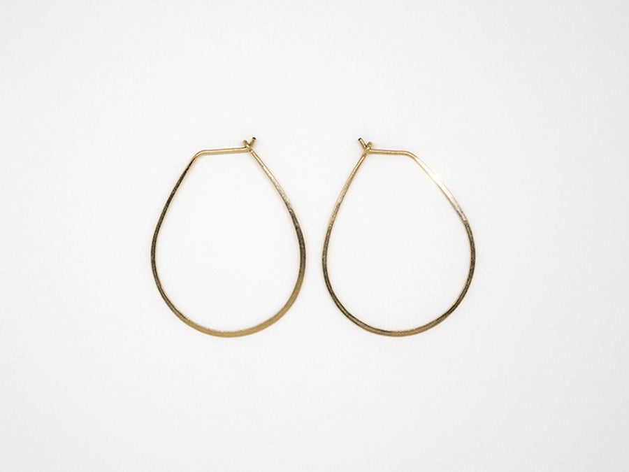 Gold Filled Teardrop Earrings