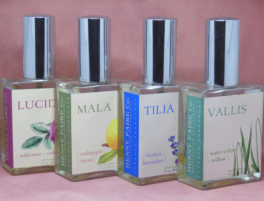 LUCIDA { wild rose + oolong } eau de parfum | 50 ml or 2 ml sample - Clover Market