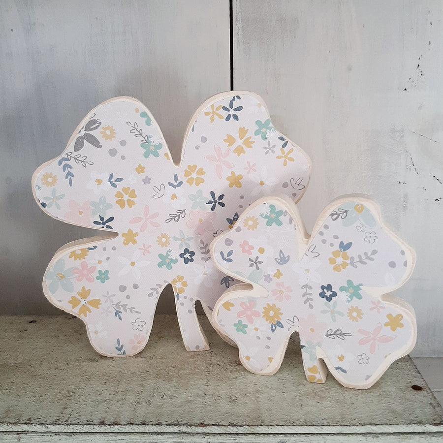 Lucky Clover- Pastel Floral LARGE