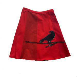 Mini Skirt-Crow - Clover Market
