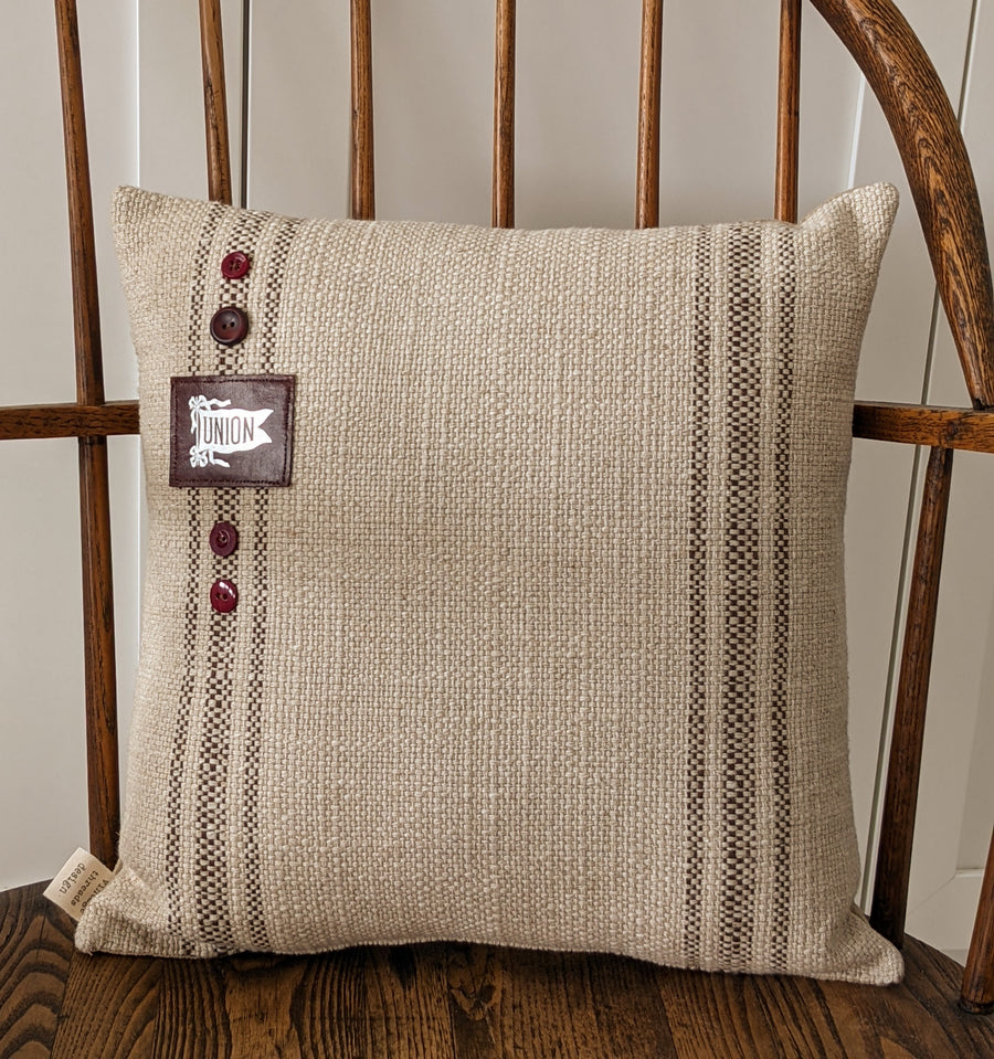 Vintage Union College Pillow - Exclusive