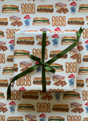 Philadelphia Wrapping Paper, 5 sheets
