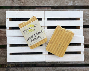 Lemon Ginger Oatmeal Tallow Soap - Clover Market