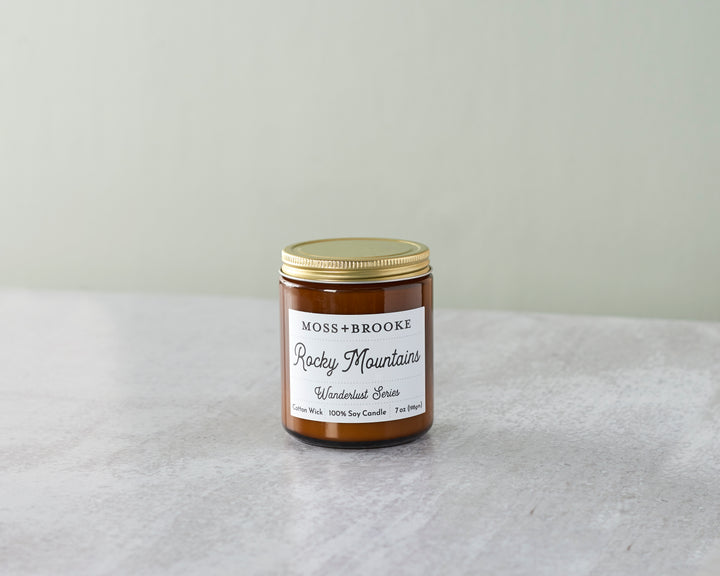 Rocky Mountains Soy Candle - Clover Market